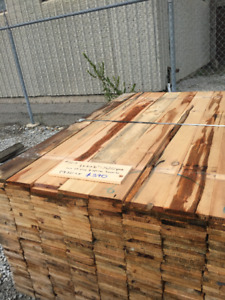 1x6x6 SPRUCE BOARDS- LUMBER CLEAROUT
