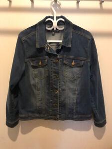 Manteau Jeans Femme, grandeur 16