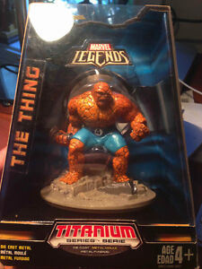 MARVEL- THE THING Titanium Serie. DieCast 4+ West Island Greater Montréal image 1