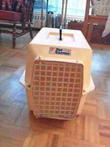 Pet Carrier (for 10-25 lb dogs or cats).