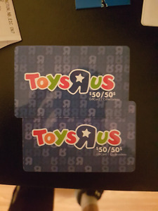 Gift card toys r us