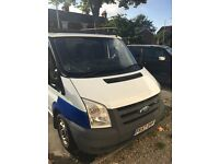 Ford transit, 57 plate 82000 on the clock