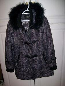 manteau hiver femme xl 14-16 ans 819 5365362 tres propre