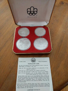Uncirculated 1976 Olympic coins