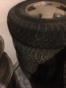 """Chevy/GMC 6 bolt 16"""" rims and tires"""