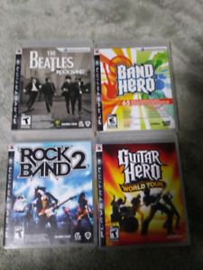 ALL 4 PS3 GAMES ARE BRAND NEW