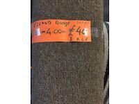 Elland range carpet roll end 1.86m x 4m