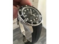Homage Rolex Seadweller Auto with two straps - new