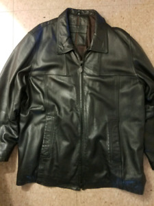 Britches XL real leather jacket
