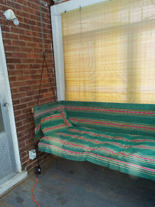 Vintage porch swing/ cot