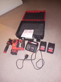 Einhell Power X-Change 18V Herocco Brushless Cordless SDS Hammer Drill