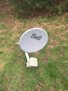2 HD Bell Satellite receivers and Dual DP plus Dish