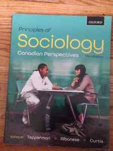 Principles of Sociology Canadian Perspectives Peterborough Peterborough Area image 1