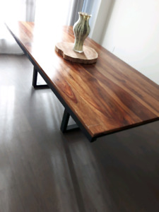 !!! Real wood !!Rosewood Dinning table