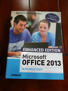 Microsoft Office 2013 Introductory Enhanced Edition