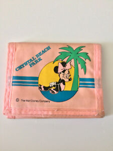 Crystal Beach Pink Minnie Mouse Wallet