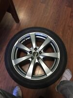 Nokian tires and rims/ high quality japanese rims