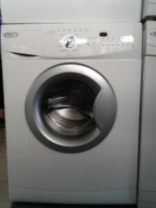 washer whirlpool front load 24""
