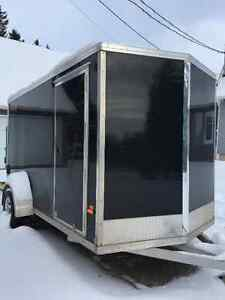 Aluminum snowmobile 6x12 trailer 2015