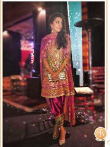 Brand new Bridal Jora from Pakistani Designer Farah Talib Aziz