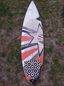 "6'2"" Parsons custom surfboard - great condition"