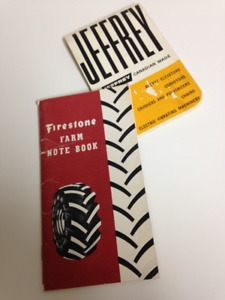 Firestone 1953 and Jeffrey 1964  Advertising Give Aways