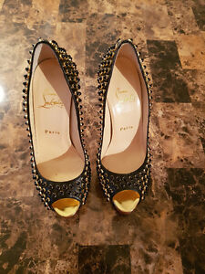 Christian Louboutin - Lady Peep Spikes Special Edition