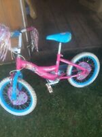 Pink Princes bike in good shape