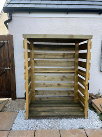 Heavy duty log store made to order to various specifications