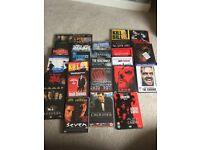DVDs x 25