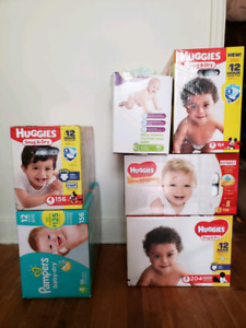 Size 3 & 4 Diapers