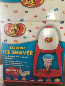 Snow cone maker, Jelly Belly ice shaver