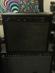 Studio gear for sale. 4 guitar amps. 2 head style analog mixers.
