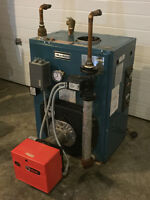 Oil Fired Boiler - Burnham V-73