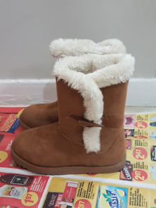 Girls Winter Boots With Fur