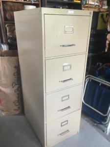 File Cabinet, 4 drawer, Commodore