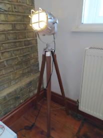 Nautical floor lamp
