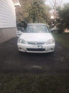 Honda civic 1999 à vendre