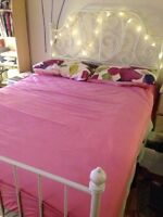Ikea bed and other furnitures for sale- good condition