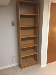 Free Billy bookshelves in good condition