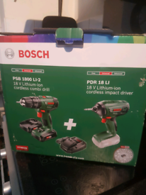 Bosch twin pack 18v