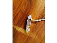 Vintage Brass Ping Pal Putter ( 85020 ) 1960's