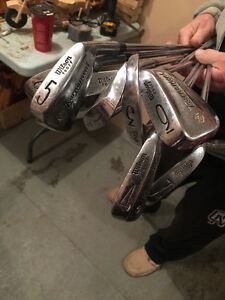 2 sets of clubs
