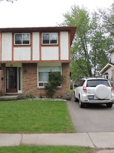 Welland Student Semi Rental For May or September 2017