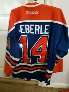 842d6da3d Jordan Eberle autographed Jersey (Edmonton Oilers)