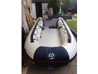 Yamaha 4.3m boat with 40hp outboard