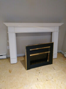 Fireplace and mantel for sale