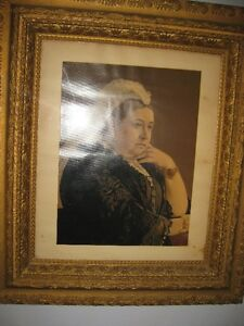 Antique Picture of Queen Victoria for Sale