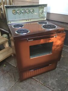 Old stove for scrap
