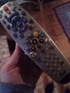 Bell satellite tv remote control